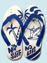 島ぞうりアートNO SURF NO LIFE