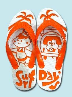 画像1: 島ぞうりアートSurf Day's Girl
